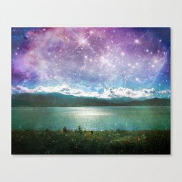 Mothership Spotting Canvas Print