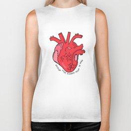 Scarred Heart Biker Tank