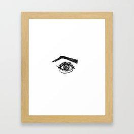 eye #1 Framed Art Print