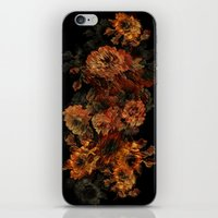 flower pattern iPhone & iPod Skins featuring Flower Pattern by Eduardo Doreni