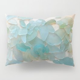Ocean Hue Sea Glass Pillow Sham