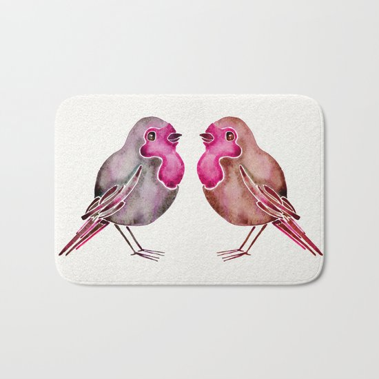 Rosie Birds Bath Mat