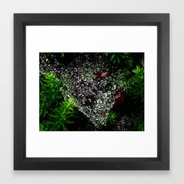 A Weave Of Water Framed Art Print