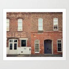 Morris Avenue Birmingham Alabama Art Print