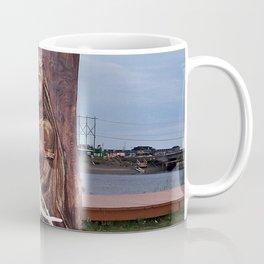 Driftwood Flower Lady Coffee Mug