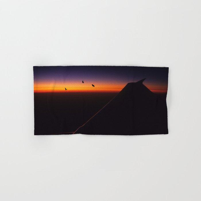 Horizon Sunset Hand & Bath Towel