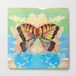 Simply Butterfly Metal Print
