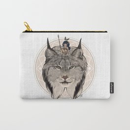 Wild Child - Lynx Carry-All Pouch