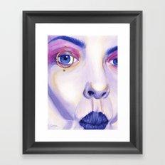 Close Up 4 Framed Art Print