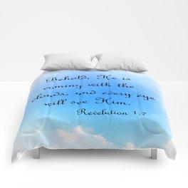 Behold He is Coming Comforters