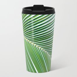 Palm leaf - greenery Travel Mug
