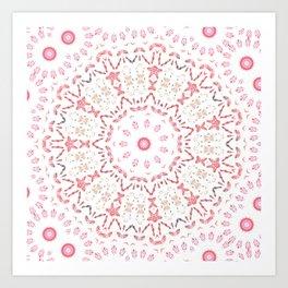 Love Eternal Pink Art Print