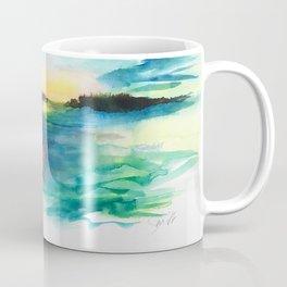 Morning Has Broken #watercolor #dawn #buyart Coffee Mug