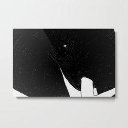 Elefante Blanco Metal Print