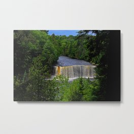 Tahquamenon Upper Falls IV Metal Print