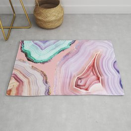 Mineral Agates #Glam collection Rug