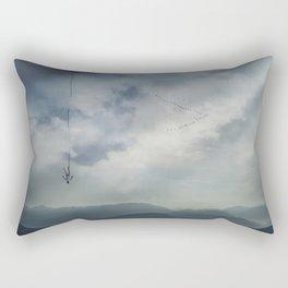 falling memories Rectangular Pillow