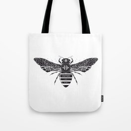 ornate bee Tote Bag