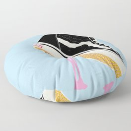 BUBBLE GUM NEVER DIES Floor Pillow