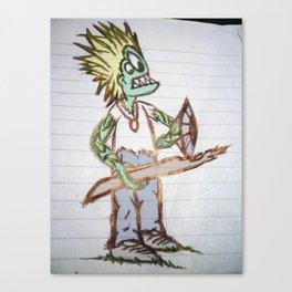 frog man Canvas Print