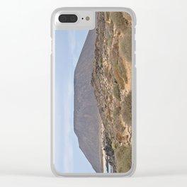 Volcanic Island Lobos Clear iPhone Case
