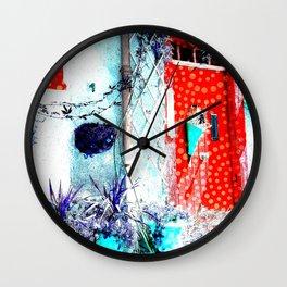 Entrance - Porte 2 Wall Clock