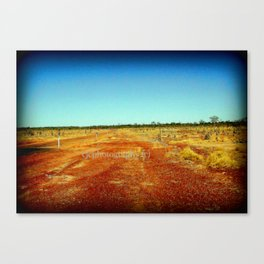 Concurry - Normonton Road - Outback Queensland Canvas Print