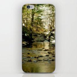 Cobb Brook Waterfall iPhone Skin