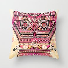 hiboux Throw Pillow