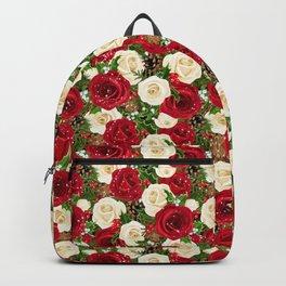 Christmas roses garden Backpack