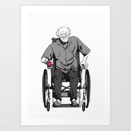 Hector Salamanka  Art Print