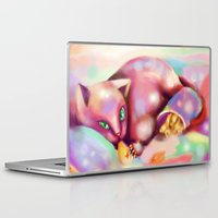 rave Laptop & iPad Skins featuring Rave Kitty by RaraHimeChan