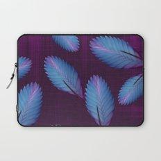 Tillandsia in dark purple Laptop Sleeve