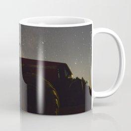 Tractor with the Night Sky Coffee Mug