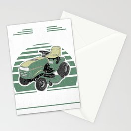 The Lawn Ranger Funny Riding Mower Retro Mowing Gift For Dad T-Shirt Stationery Cards