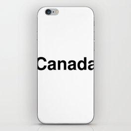 Canada iPhone Skin