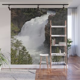 Grand Canyon Of The Yellowstone Lower Falls Wall Mural