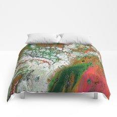 Orange Crush Comforters