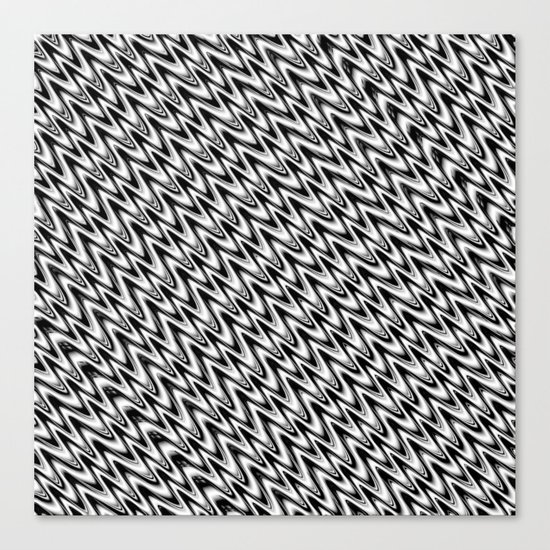 Black and White 3 Canvas Print