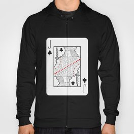 Single playing cards: Jack of Clubs Hoody