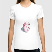 egg T-shirts featuring Egg by djoek