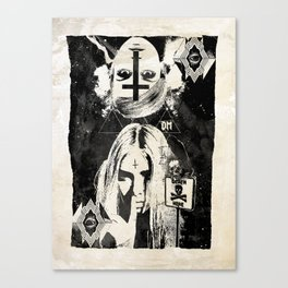DarkMatter | TABVLA XXVII Canvas Print