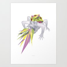King Skull Art Print