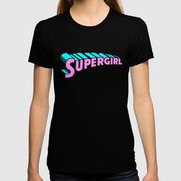 super girl supergirl sticker fun love cute 2018 hot superman T-shirt