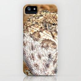 Chameleon - Macro Portrait iPhone Case
