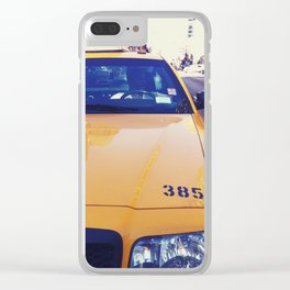 Life In My Big Bad Apple (Pt 2) Clear iPhone Case
