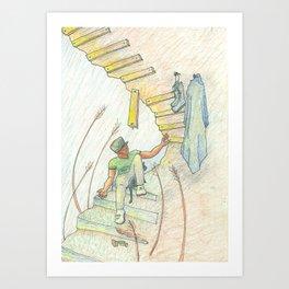 Endurance (Coat and Boots) Art Print