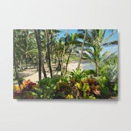 Kuau Beach Cove Paia Maui Hawaii Metal Print