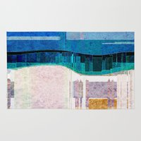 cityscape Area & Throw Rugs featuring CITYSCAPE by Catspaws