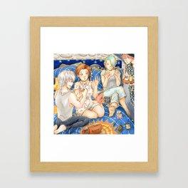 sleepover #1 Framed Art Print